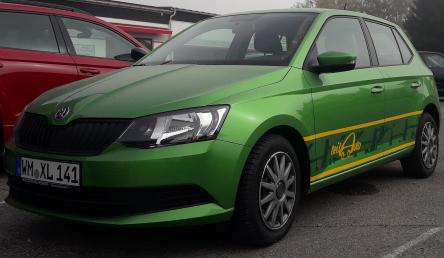 Kfz WM-XL-141 - Carsharing Pfaffenwinkel Teil Auto Weilheim OekoMobil Pfaffenwinkel eV